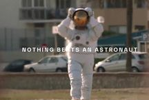 astronaut vs. diver