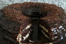 Kremalı pastalar