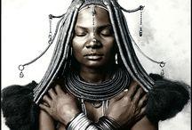 HIMBA, le donne belle come statue