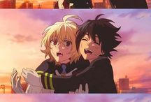 Owari no Seraph / Owari no Seraph, Mikayuu, Seraph of the end, anime, manga. I own no image. They are from internet.