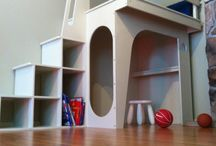 Kids bedroom / by Shelley Kuipers