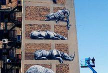 Art Form: Street Art / #art #arte #artist #painting #mural #murals # urban #urbanart #streetart #unsanctionedpublicart