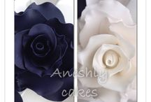 Aneshly Cakes Edible Flower / Some of our colorful flowers made for different occasions made by Aneshly Cakes