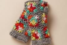 Crochet Mittens/Wristers etc... / by Becky Gilleland-Gibson