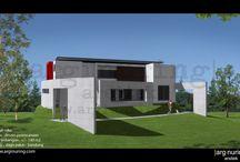 Arsitek Bandung / Jasa desain rumah minimalis Bandung  / by Arum Andarjati