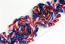4th of July Ideas --- Sunshine Shoppe / 4th of July day themed products, DIY crafts, recipes, home decorations, etc!