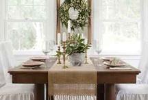 dining spaces / by Gwen Jones