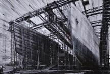 Artist: Valerio d'Ospina / #artist #valerio_d'ospina #navy_yard #landscape #altered_perspective