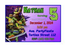Ninja Turtles Party Birthday Ideas