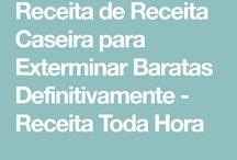 RECEITA CASEIRA MATAR BARATAS