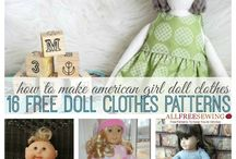 Dolls clothes & other