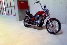 Suzuki Vs 1400 usa edition  / My bikes on there...