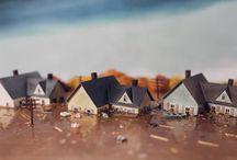 "Dollhouse-Dioramas-Disasters ""mini"""