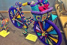 La bicyclette insolite {yarnbombing}
