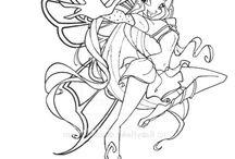 Winx-rysunki