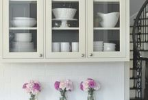 kitchen cabinets / by Linda Evans
