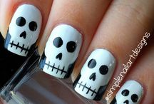 Nails-Halloween / by 🎀Pamela Lopour