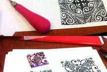 pattern handmade print