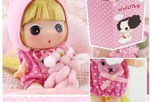 Dolls et Poupées asiatiques / Découvrez nos jolies poupées importées de Corée!