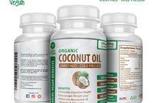 100% Organic Coconut Oil Capsules