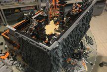LEGO City - Godwin's Hollow - Inferno HQ - WIP