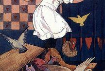 Alice in W:Margaret Tarrant / Alice in wonderland (illustrator)