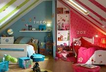 Twins at Home / Ideas for twin bedrooms, play rooms, and other areas of the house for families with multiples. / by The Best of Twins