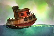 Children's Book Art / Amazin, inspiring children's book art or art that would suit children's books.