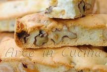 biscuiți cu migdale nuci și alune