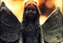 angels and paintings and sculptures / by Caral Freeman