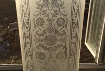 Etched Glass Inspiration