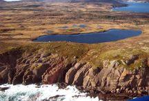 * Hiking in Newfoundland *