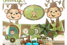 Jungle Birthday Party Ideas / Inspirational Ideas for a Fun Birthday Party!