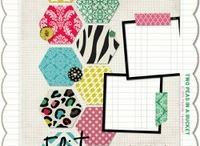 Fonts, Frames, Borders, Paper, & Scrapbooking  / by Leslie Lenau Wren