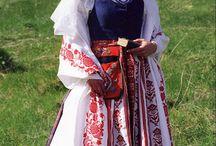 costumes traditional Lituanie / Folk costumes of Lithuania stroje ludowe litewskie