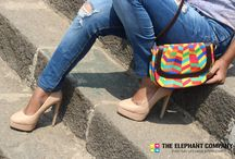 Designer Handbags / Canvas Jholas, Sling Bags, and Leather Handbags by The Elephant Company