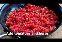 Tomates e hervas