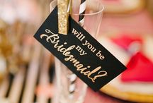 "Bridesmaid Gift Ideas / Your BFF's have been truly amazing throughout this whole wedding planning process and they will be standing right there with you the moment you say ""I do"". These bridesmaid gift ideas will be the perfect way to show your love and appreciation for all that they do!"