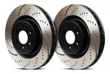 EBC Brakes GD7158 - EBC 3GD Series Dimpled and slotted sport rotors (Sold as a pair) /Front | TDot Performance