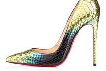 Elevation of Heels / You know a woman must keep her standards, head and heels high! Baby - these heels are made for me!