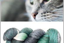 Farbideen für Wolle