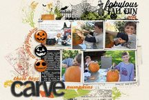 Scrapbook: Distress, splatter and collage / Trendier layouts that have a distressed our grunge look. Layouts with lots of layers elements in a collage style will go here too.