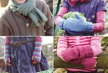 knitting / Ideas to knit for the girls and I.