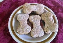 Recipes for Dog Treats and Sweets / Healthy treats that are homemade for your fur friend.  / by Susan Zutautas
