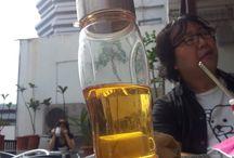 #teflaske / Teflaske frå Tedragen er perfekt til å ha med på reiser. Her er reisebrev frå teflaskene.