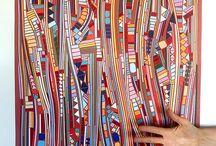mosaico di carta
