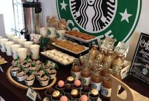 Starbucks party ideas