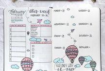 journal ideas // Ideen für Planner