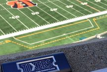 Sports / Use a Plusblue custom engraved charger at any sporting event! Useful and elegant way to promote your business, team, or franchise.