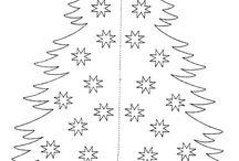 karácsonyi filigrán